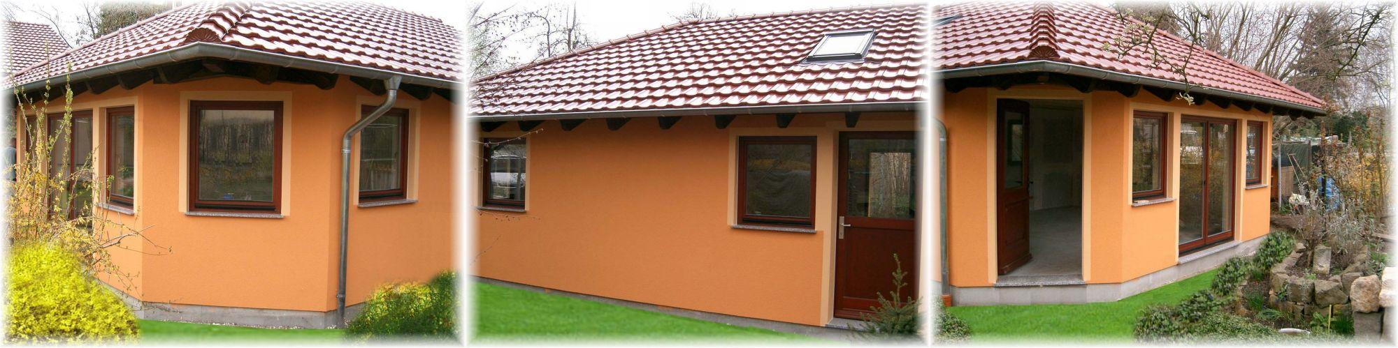Fassadenfarbe beispiele gestaltung bungalow  AUSBAU DETLEFSEN | Referenzen